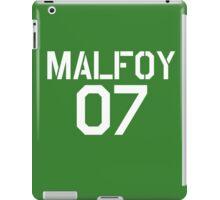 Malfoy Quidditch team iPad Case/Skin