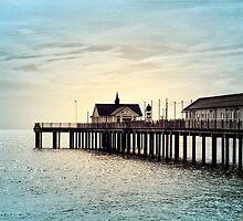 Southwold Pier by AllyNCoxon