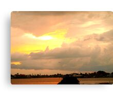 Sky shear Canvas Print