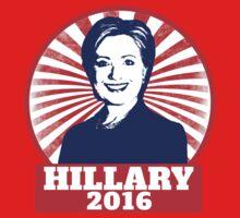 Hillary Clinton 2016  One Piece - Short Sleeve