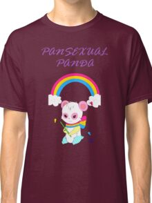 Cute Pansexual PANda shirts and hoodies - pan pride Classic T-Shirt