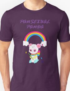 Cute Pansexual PANda shirts and hoodies - pan pride Unisex T-Shirt