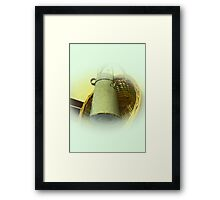 Old Milk Churn Framed Print