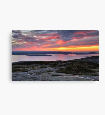 Sunrise, Cadillac Mountain Canvas Print
