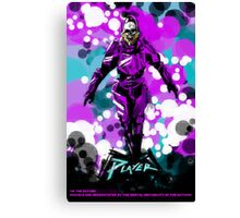 In The Future The Protagonist Is Already Dead Canvas Print