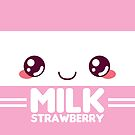 Strawberry Milk Carton by pai-thagoras