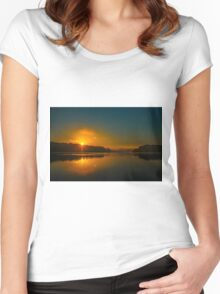 Morning reflection Women's Fitted Scoop T-Shirt