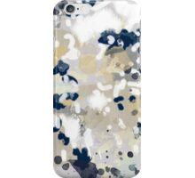 Nigel - Abstract art painting brushstrokes free spirt dorm college masculine feminine art print cali iPhone Case/Skin