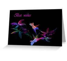 Best wishes.Card. Greeting Card