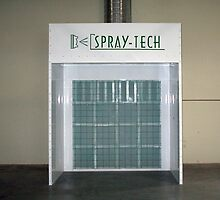 Open Face Industrial Paint Booths by spraytech