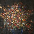 Dark Florals [011] by petrapols