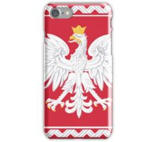 Polish Banner iPhone Case/Skin