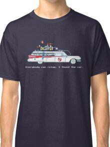 Ecto 1 - Ghostbusters Pixel Art Classic T-Shirt