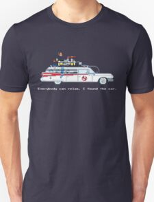 Ecto 1 - Ghostbusters Pixel Art Unisex T-Shirt