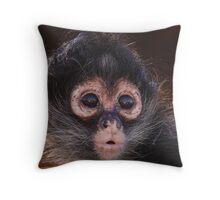 Spider Monkey baby Throw Pillow