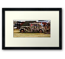 WWII Mercedes Staff Car Framed Print