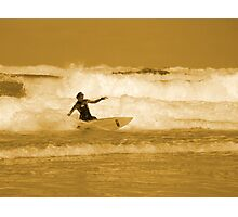 Catching the Waves Photographic Print