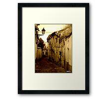 Albaicin ..GRANADA -Spain Framed Print