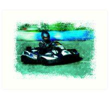 Go-Kart 2 Art Print