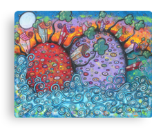 Seaside Harmony Canvas Print