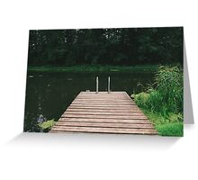 Pier Greeting Card