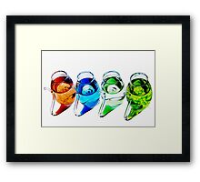 Port Sippers Framed Print