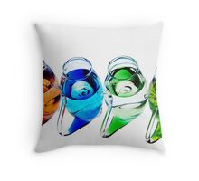Port Sippers Throw Pillow