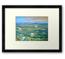 Saint Bernards,Tamborine Mountain Queensland  Framed Print
