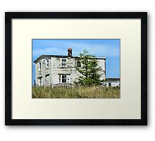 Abandoned to the Elements Framed Print