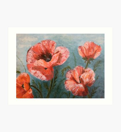 Pink Poppies [006] Art Print
