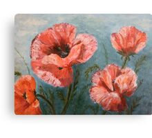 Pink Poppies [006] Canvas Print