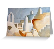 Pyrgos  Greeting Card