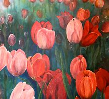 Pink Tulips [001] by petrapols