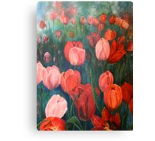 Pink Tulips [001] Canvas Print