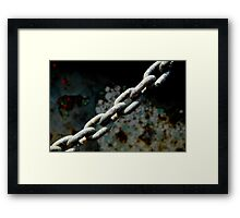 Tested and arrested Framed Print