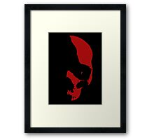 Face Of War Framed Print