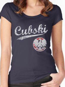 Cubski Chicago Polish Women's Fitted Scoop T-Shirt