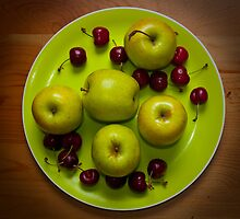 Apples and Cherries by Arjuna Ravikumar