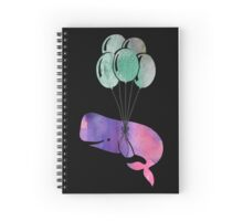 Whale Balloons Spiral Notebook