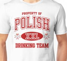 Polish Drinking Team  Unisex T-Shirt