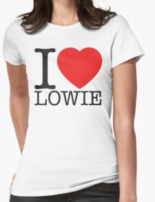 I Heart Lowie Womens Fitted T-Shirt