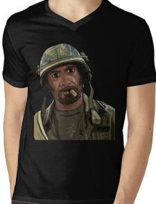 Tropic Thunder Mens V-Neck T-Shirt