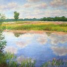 Summer day reflections by Julia Lesnichy