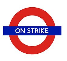 London Undeground - On Strike by CherryCassette