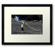 Learning to Fly... Framed Print