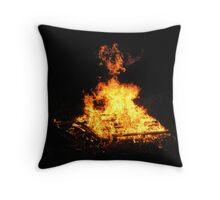 Heart Of Fire Throw Pillow