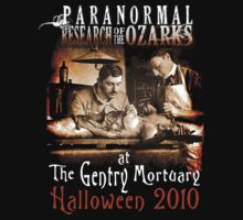 Halloween at the Gentry Mortuary by Charlie Bookout