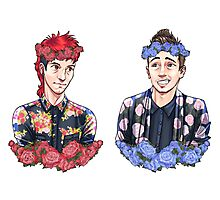 Flower Crowns Photographic Print