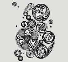 Celtic Clockwork Spirals Unisex T-Shirt