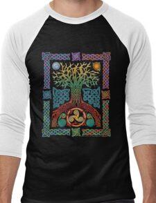 Celtic Tree of Life Men's Baseball ¾ T-Shirt